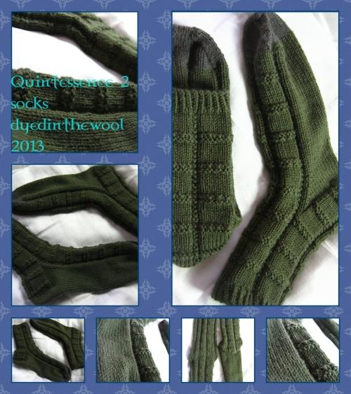 Quintessence II socks in Adriafil Globe Uni